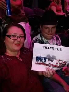 Renee attended George Strait - Strait to Vegas on Sep 1st 2017 via VetTix