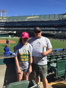 Click To Read More Feedback from Oakland Athletics vs. Texas Rangers - MLB