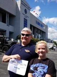 Steve attended Navy Midshipmen vs. Tulane - NCAA Football on Sep 9th 2017 via VetTix
