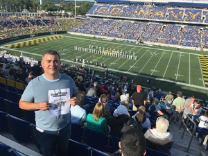 Pablo attended Navy Midshipmen vs. Tulane - NCAA Football on Sep 9th 2017 via VetTix