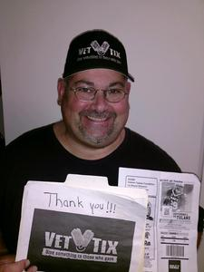 Jon Patrick attended Navy Midshipmen vs. Tulane - NCAA Football on Sep 9th 2017 via VetTix