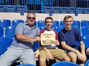 Daniel Hudson attended Navy Midshipmen vs. Cincinnati - NCAA Football on Sep 23rd 2017 via VetTix