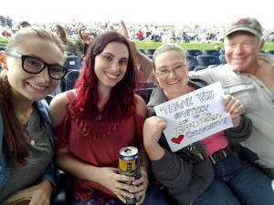 Rachel attended Brad Paisley: Weekend Warrior World Tour 2017 With Special Guest Dustin Lynch, Chase Bryant and Lindsay Ell on Sep 10th 2017 via VetTix