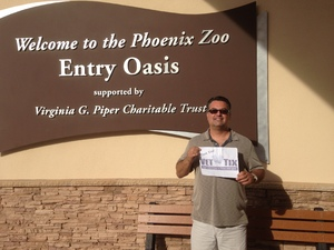 Willis attended Phoenix Zoo on Nov 4th 2017 via VetTix