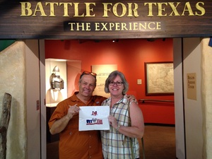Click To Read More Feedback from Battle for Texas: the Experience