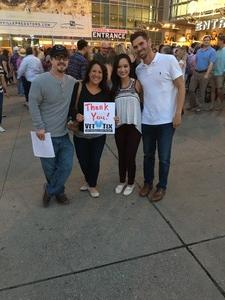 Christina attended Lady Antebellum You Look Good World Tour With Special Guest Kelsea Ballerini, and Brett Young on Sep 9th 2017 via VetTix
