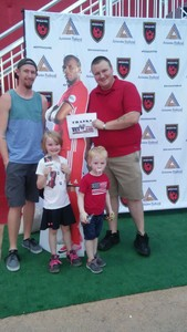 Zachary attended Phoenix Rising FC vs. Seattle Sounders FC 2 - USL on Sep 2nd 2017 via VetTix