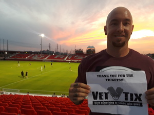 TJ attended Phoenix Rising FC vs. Seattle Sounders FC 2 - USL on Sep 2nd 2017 via VetTix