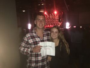Mark attended Brad Paisley: Weekend Warrior World Tour 2017 With Special Guest Dustin Lynch, Chase Bryant and Lindsay Ell on Sep 8th 2017 via VetTix
