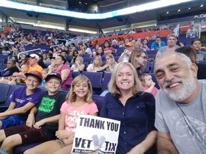 Click To Read More Feedback from Phoenix Mercury vs. Atlanta Dream - WNBA