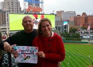 James attended Cleveland Indians vs. Detroit Tigers - MLB on Sep 11th 2017 via VetTix
