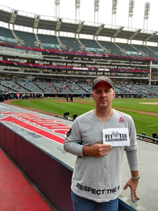 Rich attended Cleveland Indians vs. Detroit Tigers - MLB on Sep 11th 2017 via VetTix
