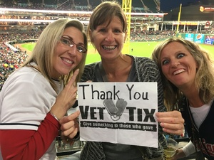 Rachelle attended Cleveland Indians vs. Detroit Tigers - MLB on Sep 11th 2017 via VetTix