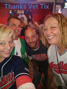 Eva attended Cleveland Indians vs. Detroit Tigers - MLB on Sep 11th 2017 via VetTix