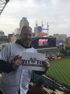 TImothy attended Cleveland Indians vs. Detroit Tigers - MLB on Sep 11th 2017 via VetTix