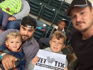 Blake attended Cleveland Indians vs. Detroit Tigers - MLB on Sep 11th 2017 via VetTix
