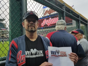 David attended Cleveland Indians vs. Detroit Tigers - MLB on Sep 11th 2017 via VetTix