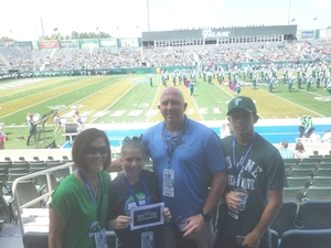 Click To Read More Feedback from Tulane Green Wave vs. Army - NCAA Football - Military Game