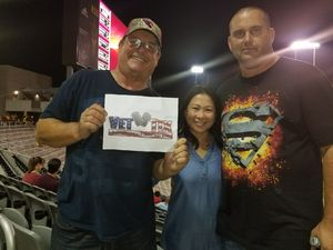 Jeffery attended Arizona State Sun Devils vs. San Diego State - NCAA Football on Sep 9th 2017 via VetTix