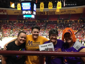 Kelly attended Phoenix Mercury vs. Seattle Storm - WNBA - Playoff Game! on Sep 6th 2017 via VetTix