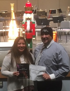 Augustine attended Music for the Imagination! With the Everett Philharmonic Orchestra on Nov 26th 2017 via VetTix