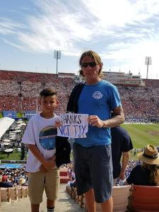 Timothy attended Los Angeles Rams vs. Indianapolis Colts - NFL on Sep 10th 2017 via VetTix