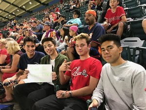 Roy attended Los Angeles Angels vs. Houston Astros - MLB on Sep 12th 2017 via VetTix