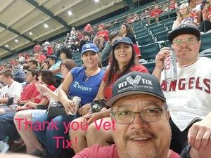Richard attended Los Angeles Angels vs. Houston Astros - MLB on Sep 12th 2017 via VetTix