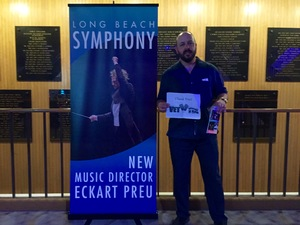 Jeremy attended Opening Night - Eckart Preu Inaugural Concert - Presented by the Long Beach Symphony on Oct 7th 2017 via VetTix