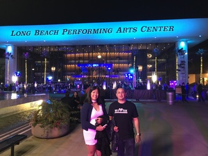 Mario attended Opening Night - Eckart Preu Inaugural Concert - Presented by the Long Beach Symphony on Oct 7th 2017 via VetTix
