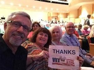 Ken attended The Rat Pack Is Back! - Saturday on Sep 23rd 2017 via VetTix