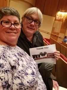 Patrick attended The Rat Pack Is Back! - Saturday on Sep 23rd 2017 via VetTix