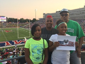 Click To Read More Feedback from Southern Methodist University Mustangs vs. North Texas - NCAA Football