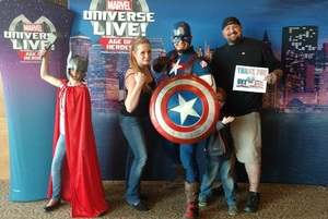 Christopher attended Marvel Universe Live! Age of Heroes - Show Tickets + Captain America Meet & Greet on Sep 28th 2017 via VetTix