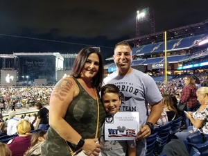 william attended Luke Bryan: Huntin', Fishin' & Lovin' Everyday Tour 2017 on Sep 8th 2017 via VetTix