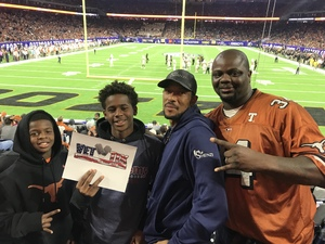 Click To Read More Feedback from 2017 Texas Bowl - Texas Longhorns vs. Missouri Tigers - NCAA Football