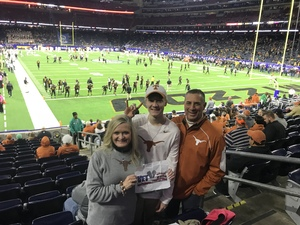 Robert attended 2017 Texas Bowl - Texas Longhorns vs. Missouri Tigers - NCAA Football on Dec 27th 2017 via VetTix
