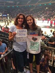 John R. attended New York Liberty vs. Washington Mystics - WNBA Playoffs on Sep 10th 2017 via VetTix