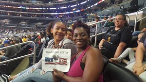 Click To Read More Feedback from Los Angeles Sparks vs. TBD - WNBA Playoffs