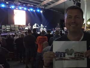 Scott attended Pat Benatar and Neil Giraldo With Toto on Sep 12th 2017 via VetTix