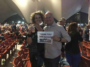 Charles attended Pat Benatar and Neil Giraldo With Toto on Sep 12th 2017 via VetTix