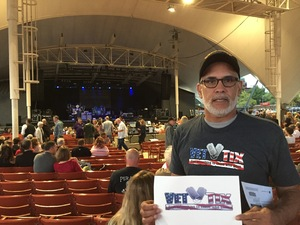 David attended Pat Benatar and Neil Giraldo With Toto on Sep 12th 2017 via VetTix
