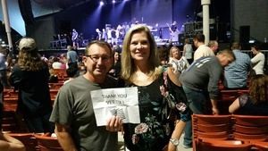 Steven attended Pat Benatar and Neil Giraldo With Toto on Sep 12th 2017 via VetTix