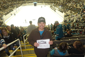 Raul attended San Jose Sharks vs. Las Vegas Golden Knights - NHL Preseason on Sep 21st 2017 via VetTix