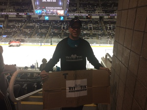Paul attended San Jose Sharks vs. Las Vegas Golden Knights - NHL Preseason on Sep 21st 2017 via VetTix