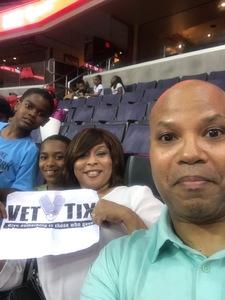 CORNEAL attended Washington Mystics vs. Minnesota Lynx - WNBA - Playoff Game! on Sep 17th 2017 via VetTix