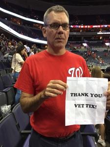 Matthew attended Washington Mystics vs. Minnesota Lynx - WNBA - Playoff Game! on Sep 17th 2017 via VetTix