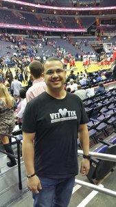 David attended Washington Mystics vs. Minnesota Lynx - WNBA - Playoff Game! on Sep 17th 2017 via VetTix