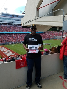 Andre attended NC State Wolfpack vs. Syracuse - NCAA Football - Military Appreciation Game on Sep 30th 2017 via VetTix