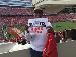 Jennifer attended NC State Wolfpack vs. Syracuse - NCAA Football - Military Appreciation Game on Sep 30th 2017 via VetTix